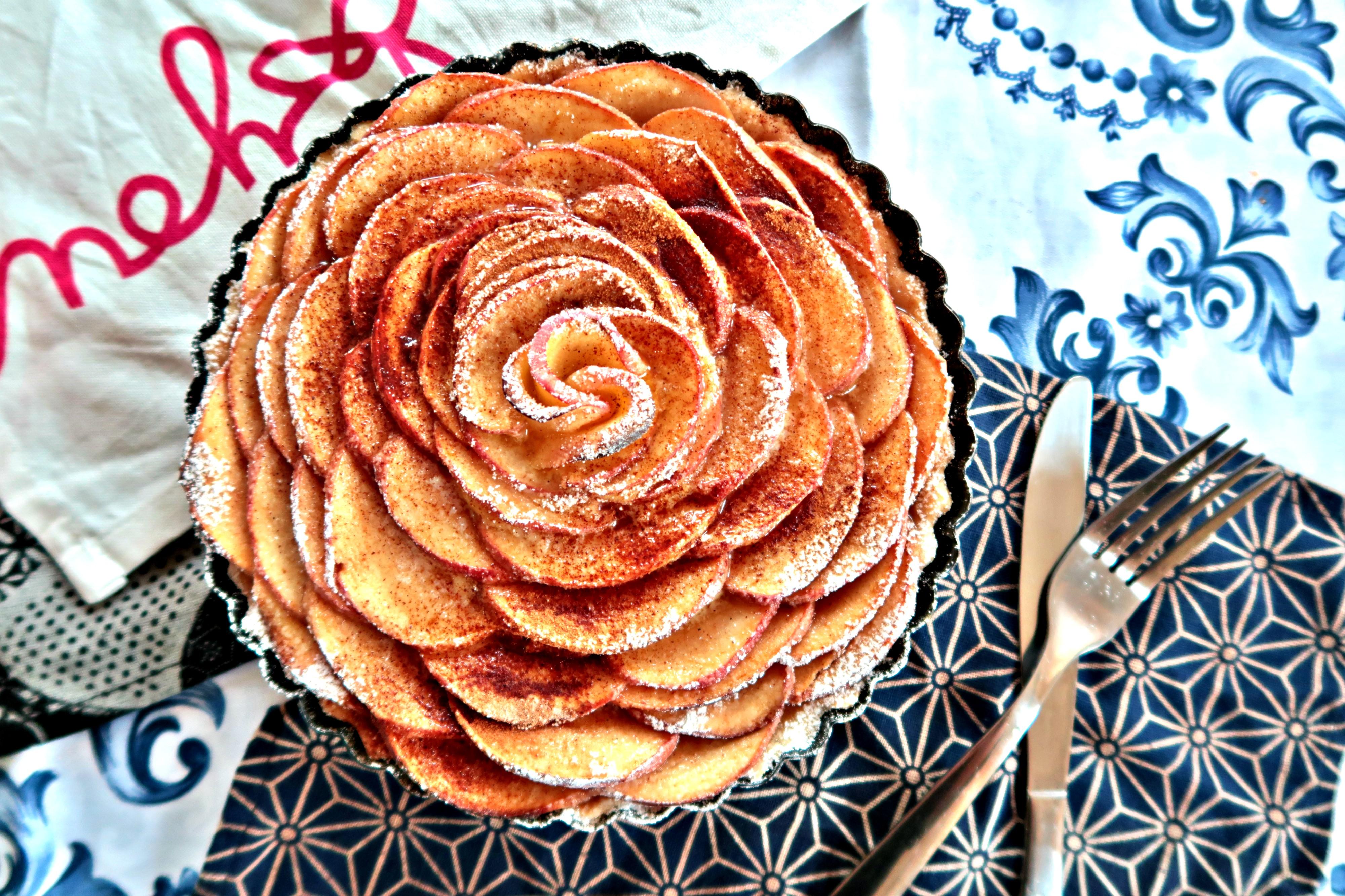 Baking Challenge (II):法式蘋果玫瑰撻