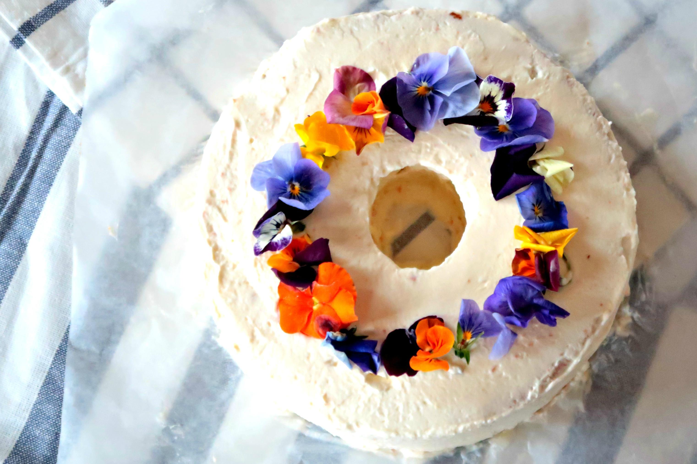 Baking Challenge III:甘薯雪芳蛋糕